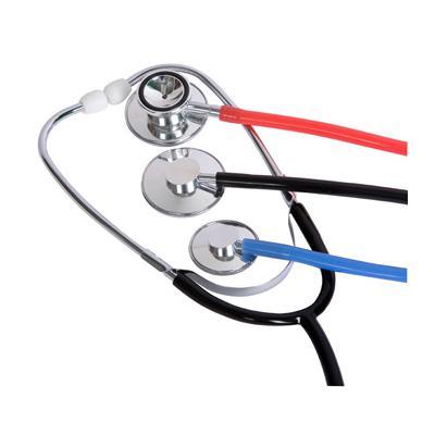 Pasgeborene en kinder stethoscopen