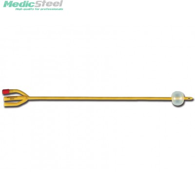 3-WAY FOLEY CATHETER single use with baloon