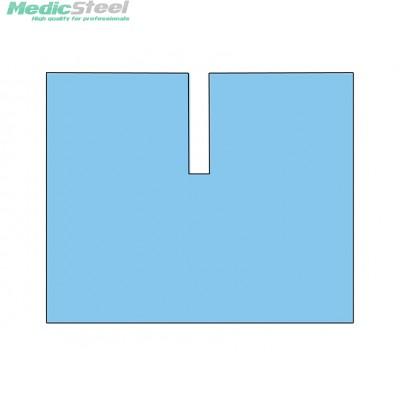 DRAPE with adhesive U shape cut sterile