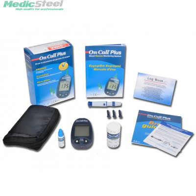 GLUCOSE MONITOR PLUS kit (mg/dl) - other languages