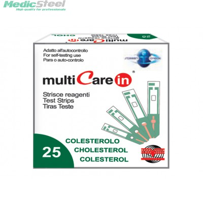 MULTICARE IN™ CHOLESTEROL STRIPS