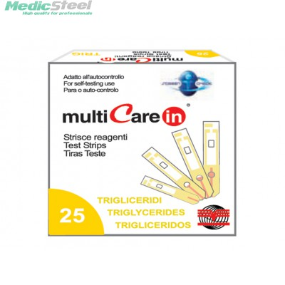 MULTICARE IN™ TRIGLYCERIDES STRIPS