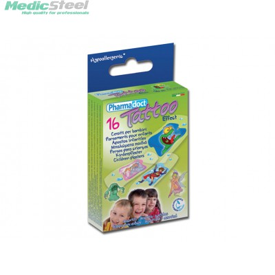 PHARMADOCT TATOO CHILDREN PLASTERS 2 sizes