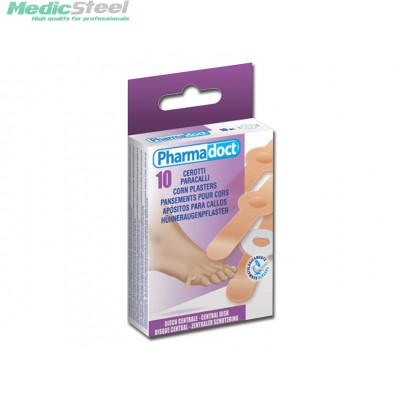 PHARMADOCT CORN PLASTERS carton of 12 boxes of 10