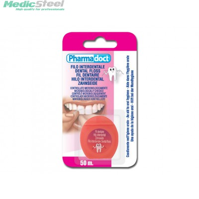 PHARMADOCT DENDAL FLOSS carton of 12 boxes