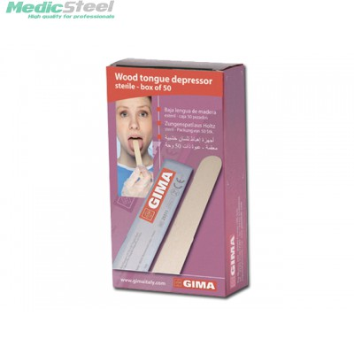 WOOD TONGUE DEPRESSOR - sterile (40 boxes of 50)
