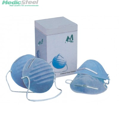 MOULDED CONE MASKS light blue