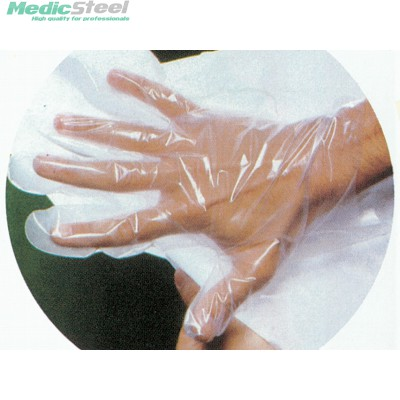 COPOLYMER GLOVES ON PAPER non sterile
