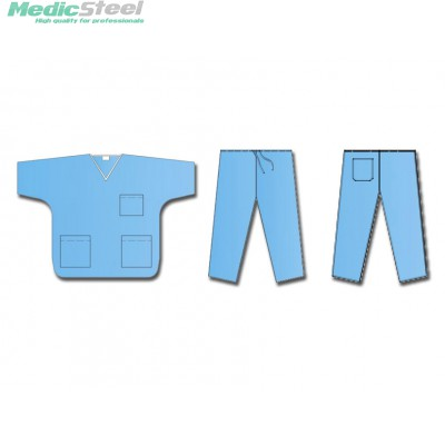 NON WOVEN UNIFORM COAT + PANTS