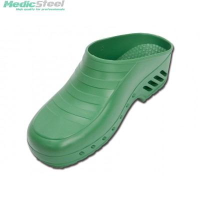 GIMA PROFESSIONAL CLOGS without pores - green