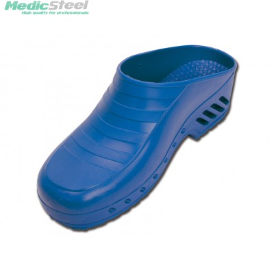 GIMA PROFESSIONAL CLOGS without pores - electric blue