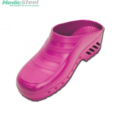 GIMA PROFESSIONAL CLOGS without pores - fuchsia