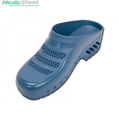 GIMA PROFESSIONAL CLOGS with pores - blue