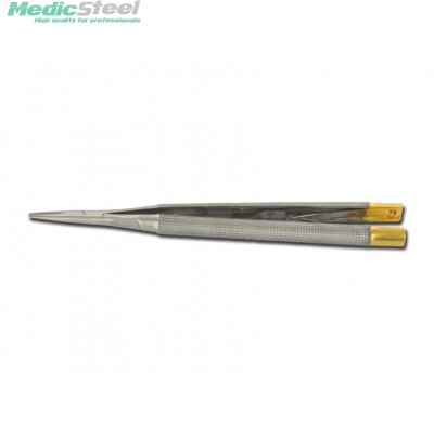 GOLD CASTROVIEJO NEEDLE HOLDER 13 cm