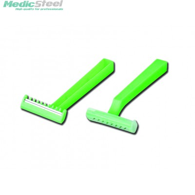 DOUBLE BLADE DISPOSABLE RAZOR