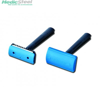 SINGLE BLADE DISPOSABLE RAZOR with comb