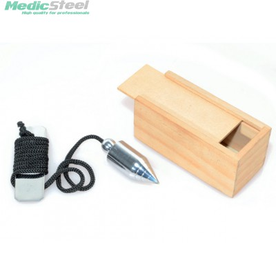 PLUMBING WEIGHT with wooden case