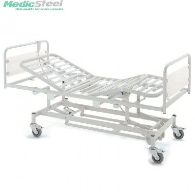 3 JOINTS BED - electric - variable height - castors