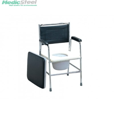COMMODE CHAIR stainless steel