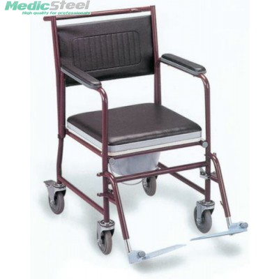 COMMODE WHEELCHAIR - painted