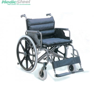 EXTRA LARGE WHEELCHAIR steel