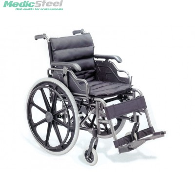 DELUXE WHEELCHAIR aluminium