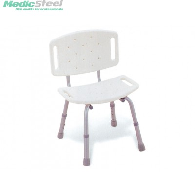 SHOWER CHAIR with backrest