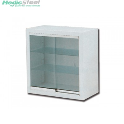 WALL CABINET glass sliding doors