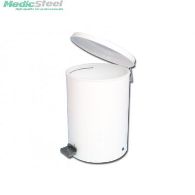 WASTE BIN enamelled steel