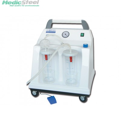 TOBI HOSPITAL SUCTION ASPIRATOR 2x2l 230V with footswitch