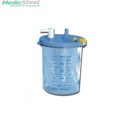 BOTTLE 1 l without cover for disposable liner