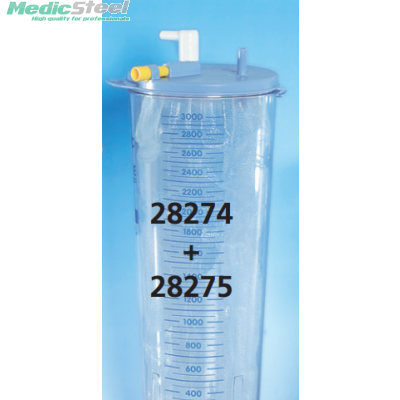 CONTAINER FOR DISPOSABLE LINER 3 l
