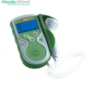 BABY SOUND GIMA FOETAL DOPPLER with display and interchangeable 1MHz probe