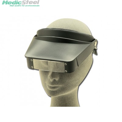 HEAD LOUPE two magnifying systems (2.2X / 3.3X)