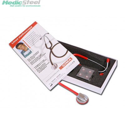 LINUX STETHOSCOPE red