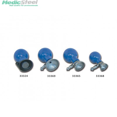CHEST ELECTRODES Ø 24 mm silver coated