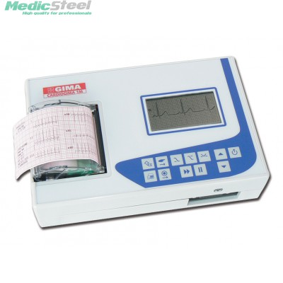 CARDIOGIMA 1 M - 1/3 channel ECG - with monitor
