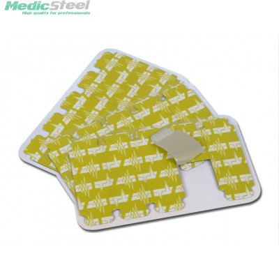 DISPOSABLE PRE GELLED TAB ELECTRODES 34 x 22 mm