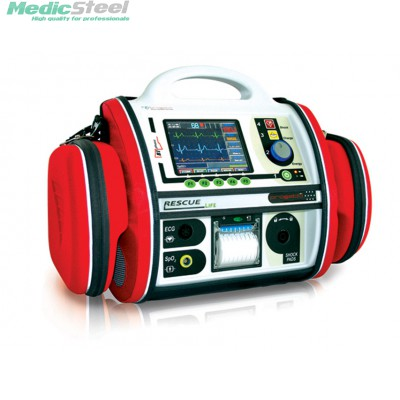 RESCUE LIFE AED DEFIBRILLATOR - with pacemaker + SpO2 + NIBP