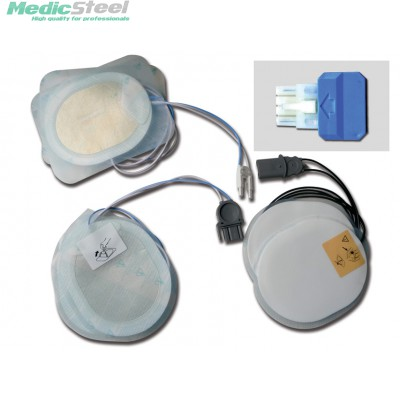 DISPOSABLE PAD - compatible for ESAOTE/SHILLER defibrillators