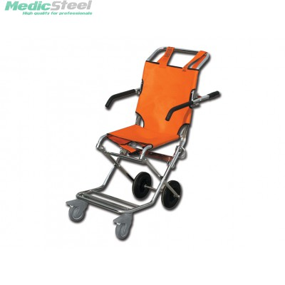 EVACUATION CHAIR orange/chrome