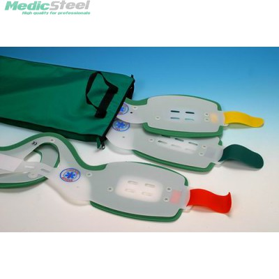ONE PIECE FIRST AID COLLAR - set of 6 collars with bag