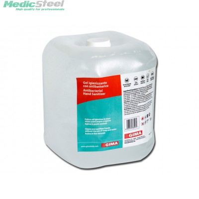 ANTIBACTERIAL HAND CLEANING GEL - 5 l - transparent