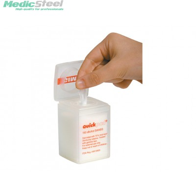 QUICKPAD ALCOHOL SWABS DISPENCER