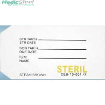 PAPER LABEL WITH INDICATOR