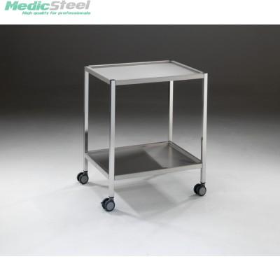 Medifa instrumentenwagen rvs 650x500x800h mm