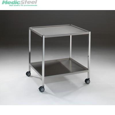 Medifa instrumentenwagen rvs 750x650x800h mm