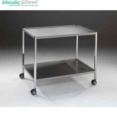 Medifa instrumentenwagen rvs 950x650x800h mm
