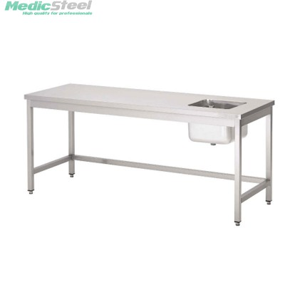 rvs schoonmaaktafel ziekenhuis , laboratorium