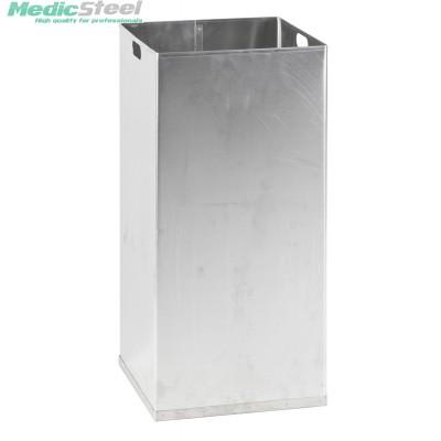 Aluminium binnenbak t.b.v. afvalbak 55